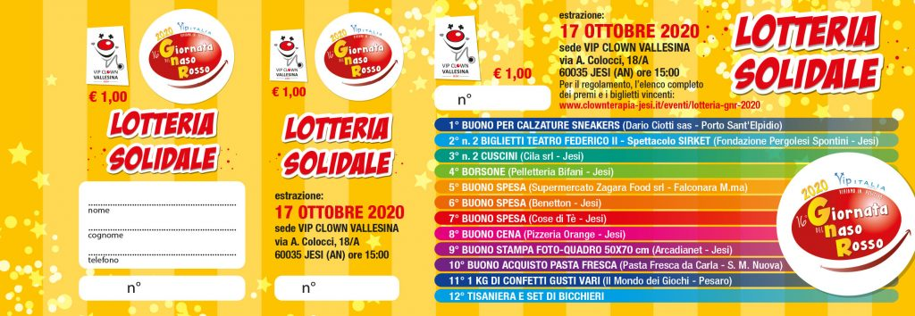 Lotteria GNR 2020
